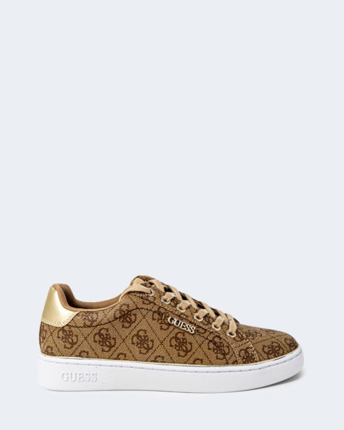Sneakers Guess BECKIE Beige scuro – 74192