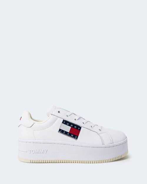 Sneakers Tommy Hilfiger FLATFORM FLAG Bianco – 72062