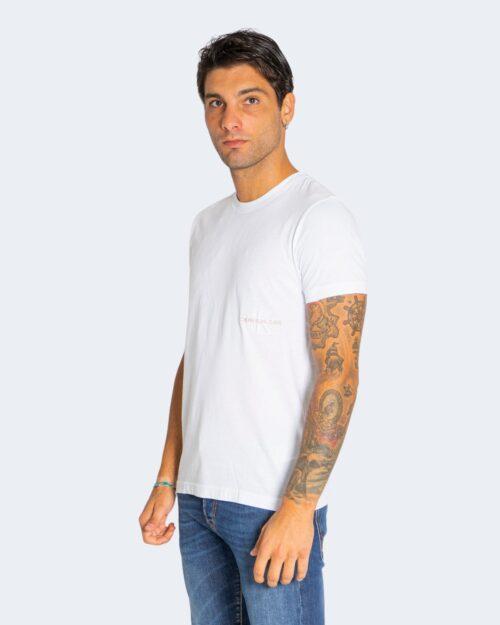 T-shirt Calvin Klein OFF PLACED Bianco – 72107