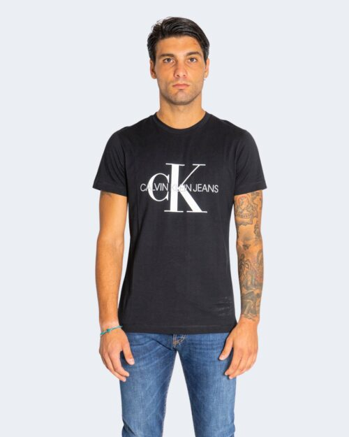 T-shirt Calvin Klein ICONIC MONOGRAM Nero – 76601