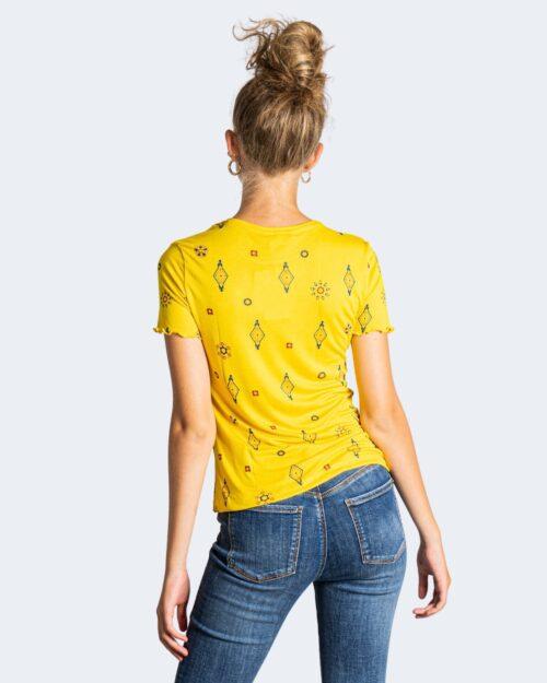 T-shirt Desigual GIUPESSA Giallo – 73329