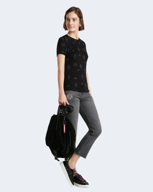 T-shirt Desigual GIUPESSA Nero – 73329