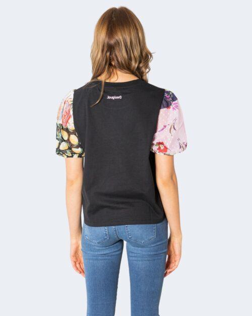 T-shirt Desigual TS TROPICAL Nero – 74296