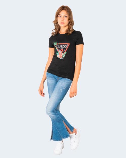 T-shirt Guess NORA Nero – 74141