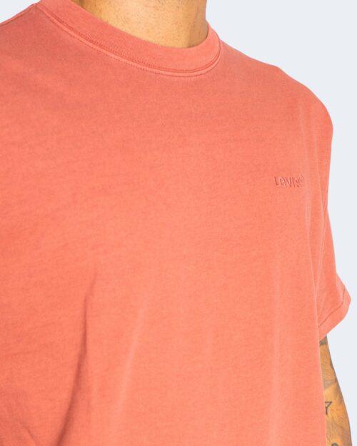 T-shirt Levi's® RED TAB VINTAGE TEE MARSALA GARMENT DYE A0637-0005 Rosso – 71678