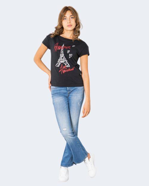 T-shirt Love Moschino AMOUR Nero – 74197