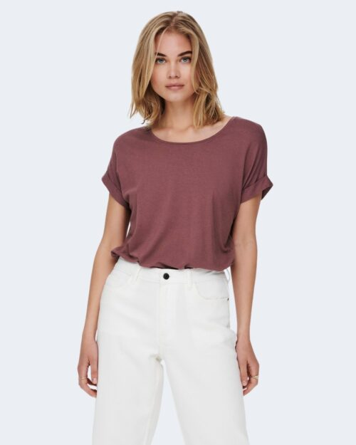 T-shirt Only MOSTER S/S O-NECK COLOR NOOS Rosa – 45418