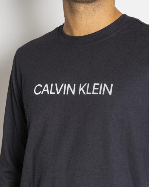 T-shirt manica lunga Calvin Klein Performance PW Nero – 71983