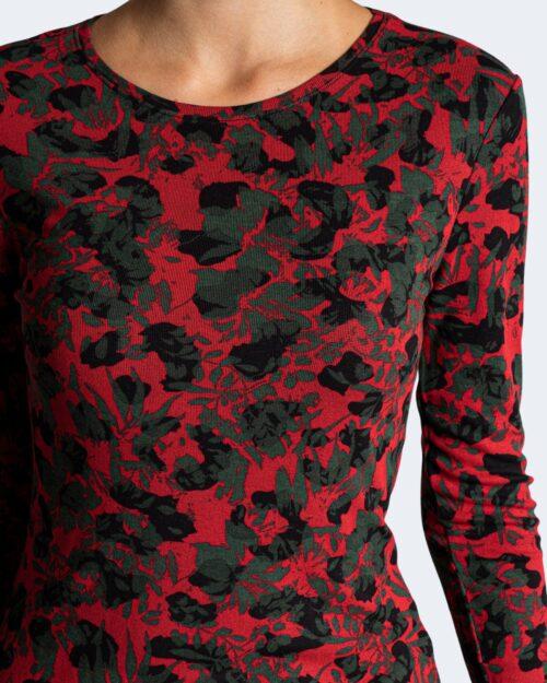 T-shirt manica lunga Desigual DARLING Rosso – 74527