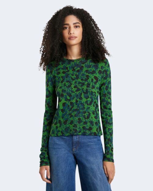 T-shirt manica lunga Desigual DARLING Verde – 74527