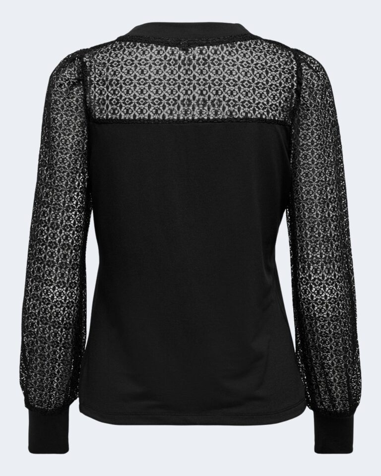 T-shirt manica lunga Only L/S PUFF MIX TOP JRS Nero - Foto 5