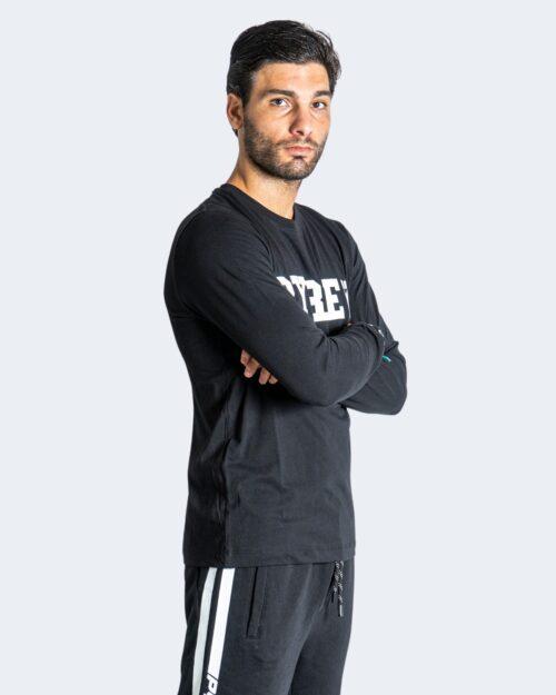 T-shirt manica lunga Pyrex LOGO BASIC Nero – 74262