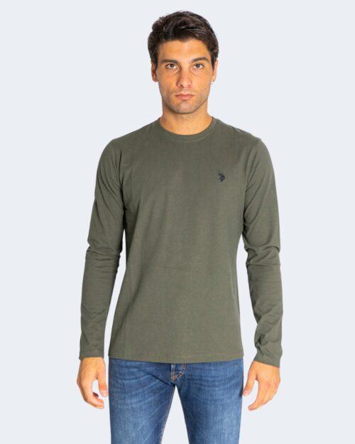 T-shirt manica lunga U.s. Polo Assn. WILL Verde Oliva – 76627