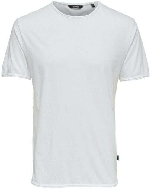 T-shirt Only & Sons ALBERT WASHED O-NECK NOOS BIANCA Bianco - Foto 5