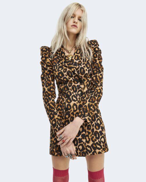 Vestito corto Aniye By JACKET DRESS BILA Marrone – 76684