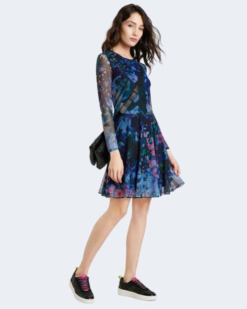 Vestito corto Desigual QAIS Blu – 73417