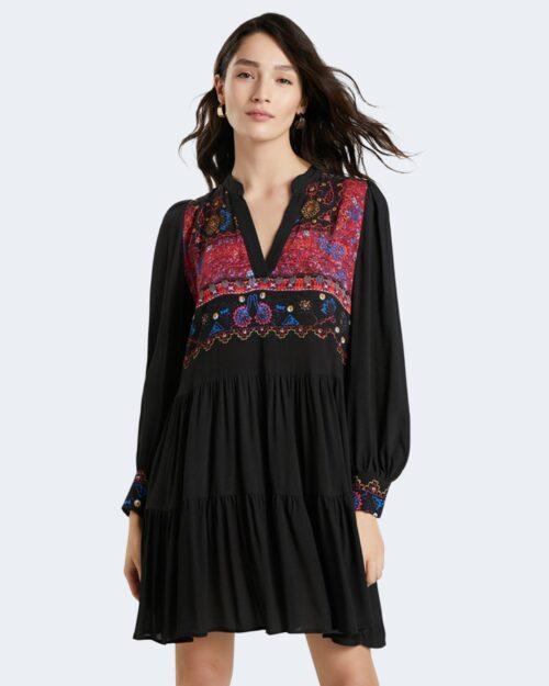 Vestito corto Desigual SOLSONA Nero – 73435