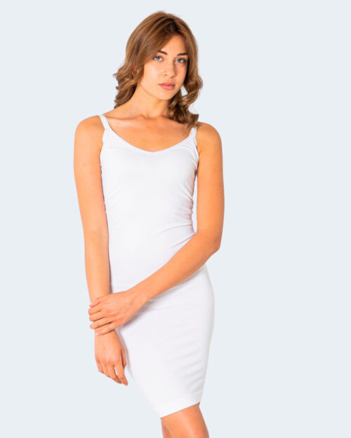 Vestito corto Only VICKY BASIC Bianco – 71877