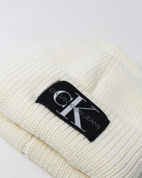 Berretto Calvin Klein MONOGRAM Bianco – 76840