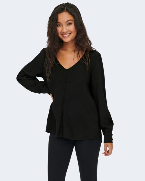 Bluse manica lunga Only METTE Nero – 77465