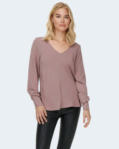 Bluse manica lunga Only METTE Rosa – 77465