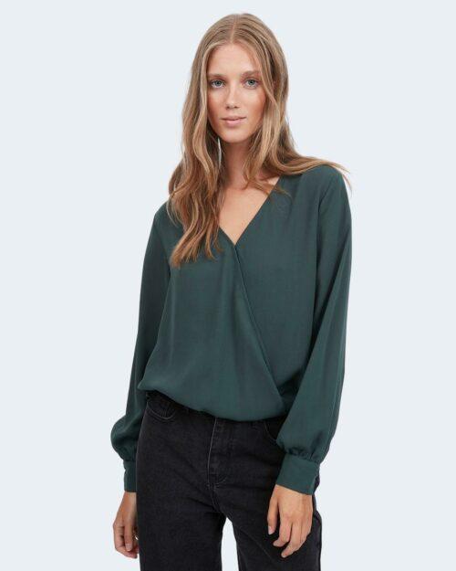 Bluse manica lunga Vila Clothes VINALU Verde – 78019