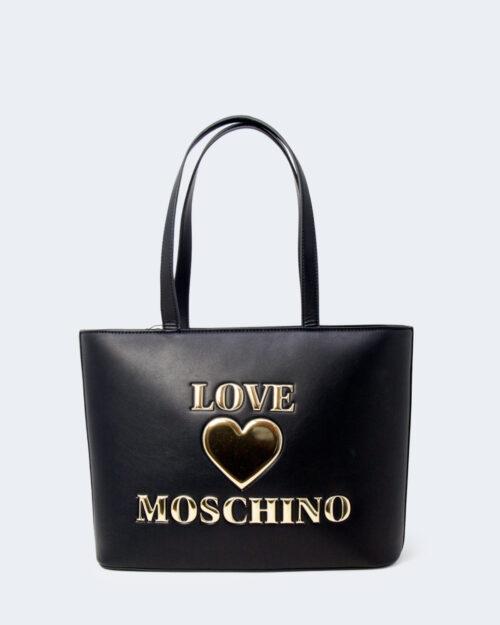 Borsa Love Moschino CUORE ORO Nero – 77528