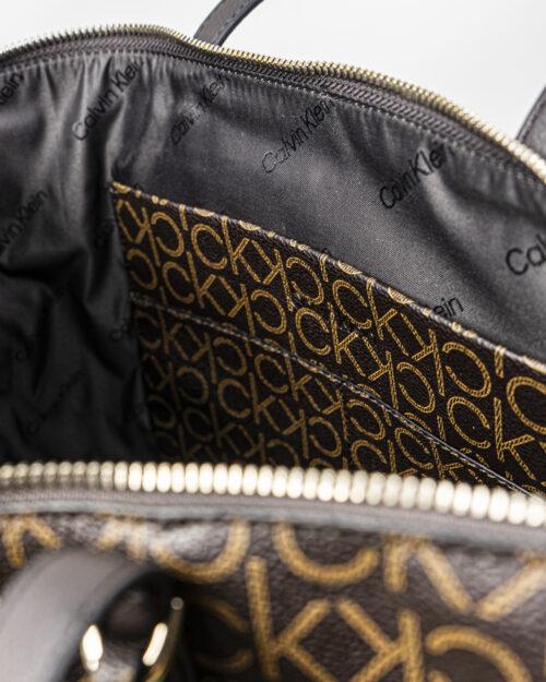 Borsa Calvin Klein MUST SHOPPER Marrone - Foto 5