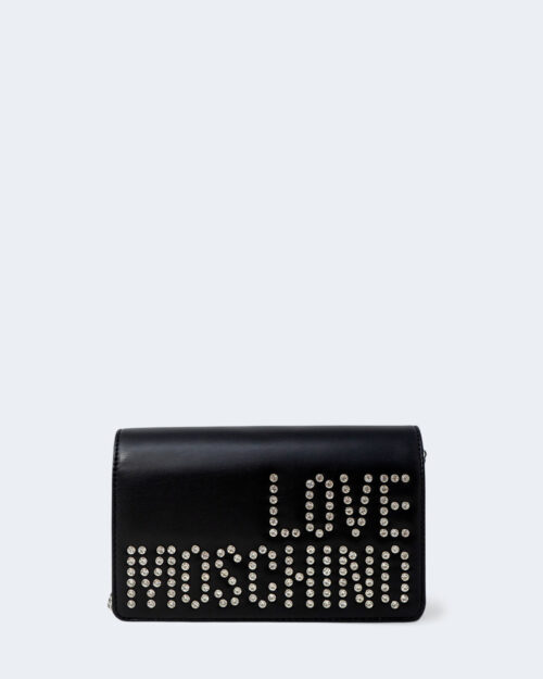 Borsa Love Moschino LOGO STRASS Nero – 77501