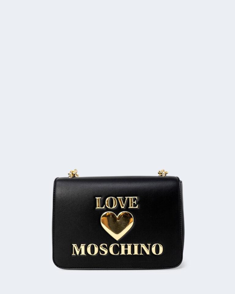Borsa Love Moschino Padded Heart Nero - Foto 1
