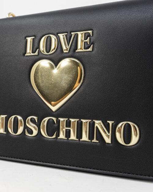 Borsa Love Moschino Padded Heart Nero - Foto 5