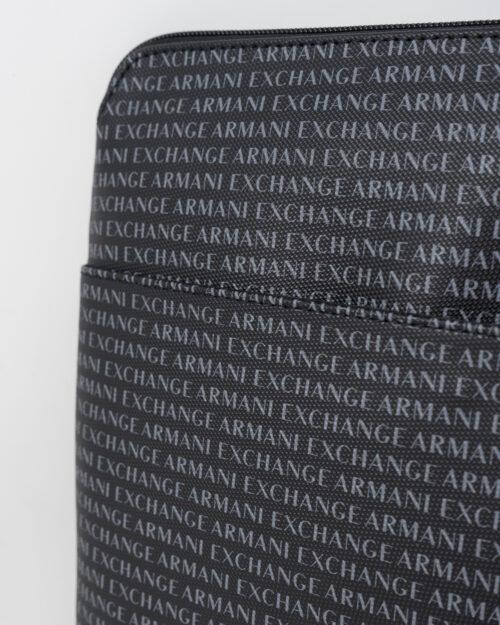 Borsa Armani Exchange BORSA FLAT MESSENGER Nero - Foto 3