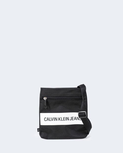 Borsa Calvin Klein MICRO FLATPACK INST Nero – 73119