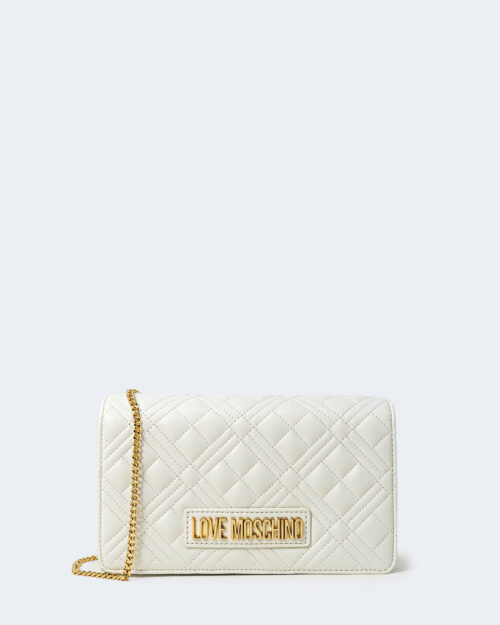Borsa Love Moschino QUILTED Bianco - Foto 1