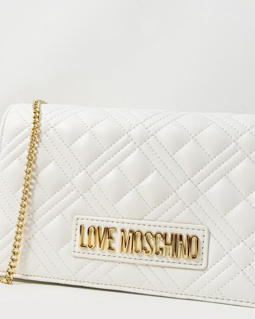 Borsa Love Moschino QUILTED Bianco - Foto 3