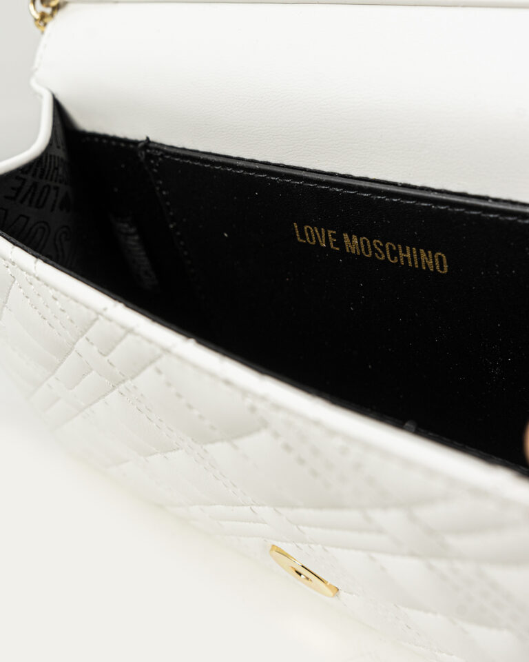 Borsa Love Moschino QUILTED Bianco - Foto 5
