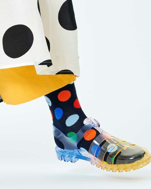 Calzini corti Happy Socks BIG DOT SOCK Blu – 76776