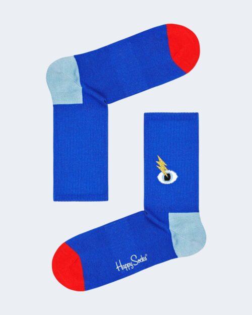 Calzini Happy Socks I SEE YOU 3/4 CREW SOCKS Azzurro – 76760
