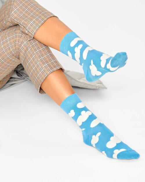 Calzini Happy Socks CLOUDY SOCKS Celeste – 76770
