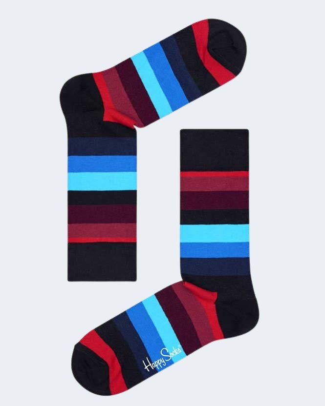 Calzini Happy Socks CALZINI STRIPE SOCKS Nero - Foto 2