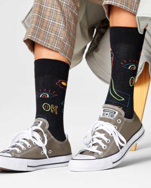 Calzini Happy Socks GOOD TIME SOCKS Nero – 76740