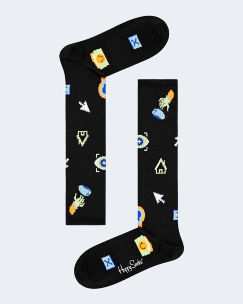 Calzini Happy Socks TECHNOLOGY KNEE HIGH SOCKS Nero – 76753