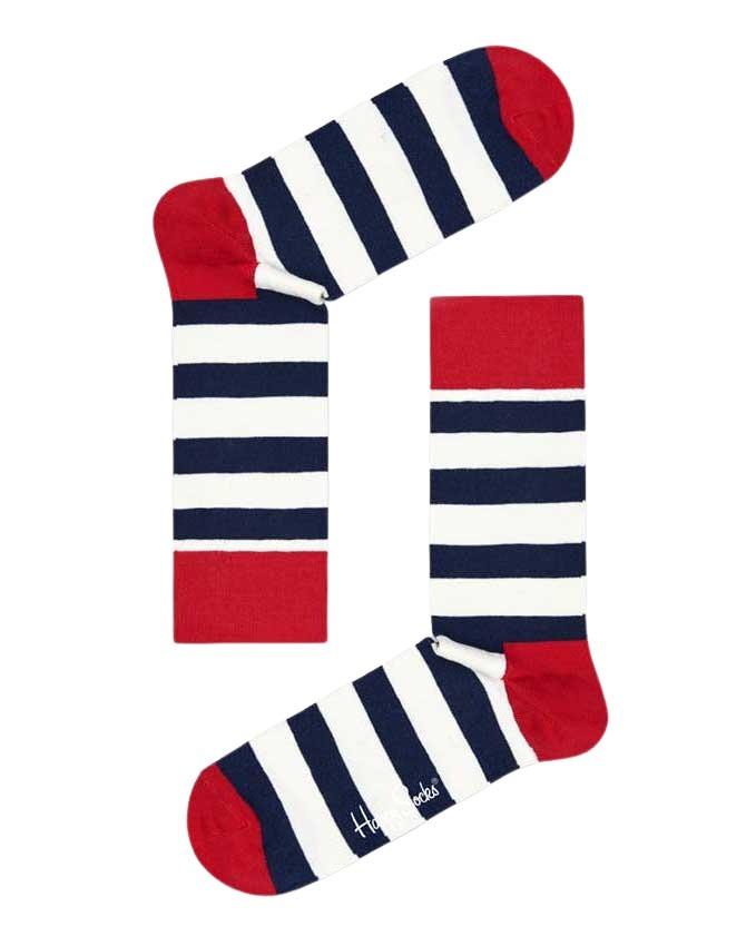 Calzini Happy Socks CALZINI STRIPE SOCKS Panna - Foto 3