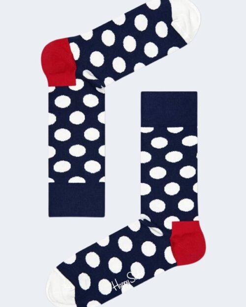 Calzini Lunghi Happy Socks BIG DOT SOCK Blu - Foto 2