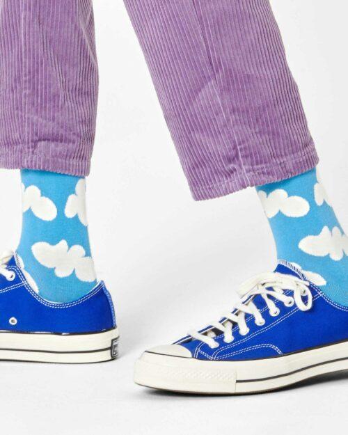 Calzini Lunghi Happy Socks CLOUDY SOCK Celeste – 76771