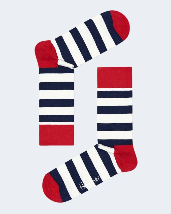 Calzini Lunghi Happy Socks STRIPE SOCK-045-068 Rosso - Foto 2