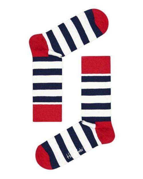 Calzini Lunghi Happy Socks STRIPE SOCK-045-068 Rosso - Foto 3