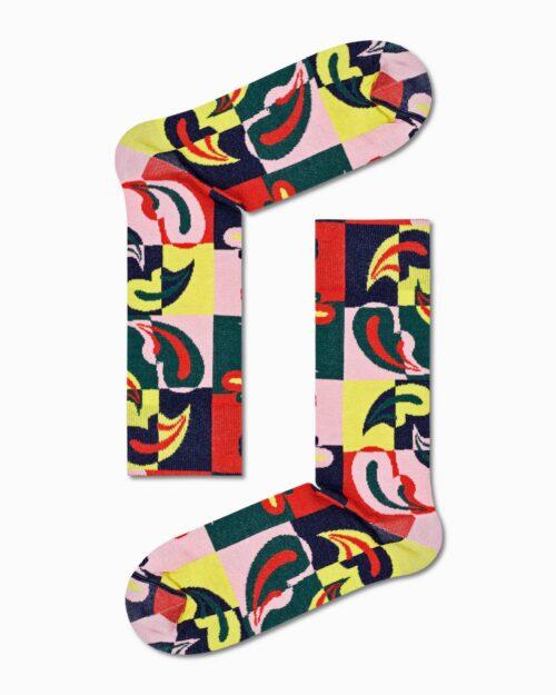 Calzini Lunghi Happy Socks DRESSED PAISLEY BONANZA SOCK Verde Oliva – 76774