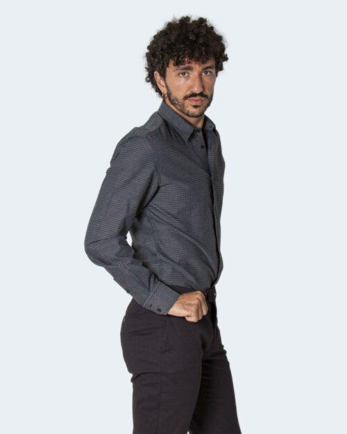 Camicia manica lunga Antony Morato NAPOLI SLIM FIT Nero – 72695