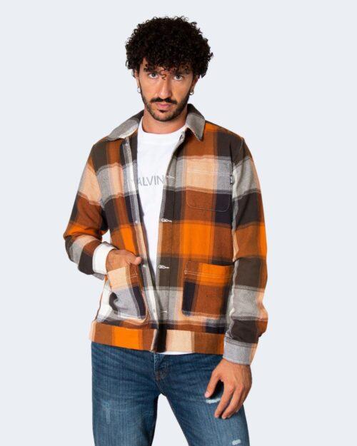 Camicia manica lunga Only & Sons MACE Arancione – 71884